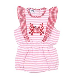 Magnolia Baby Magnolia Baby Gingham Carb Applique Ruffle Flutters