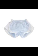 Funtasia Too Funtasia Too Blue Stripe Shorts, White Side
