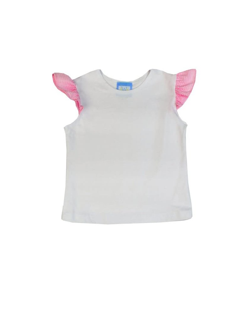 Funtasia Too Funtasia Too Angel Sleeve Tee Pink Ruffle