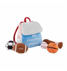 Mud Pie Mud Pie My Favorite Sports Plush Set