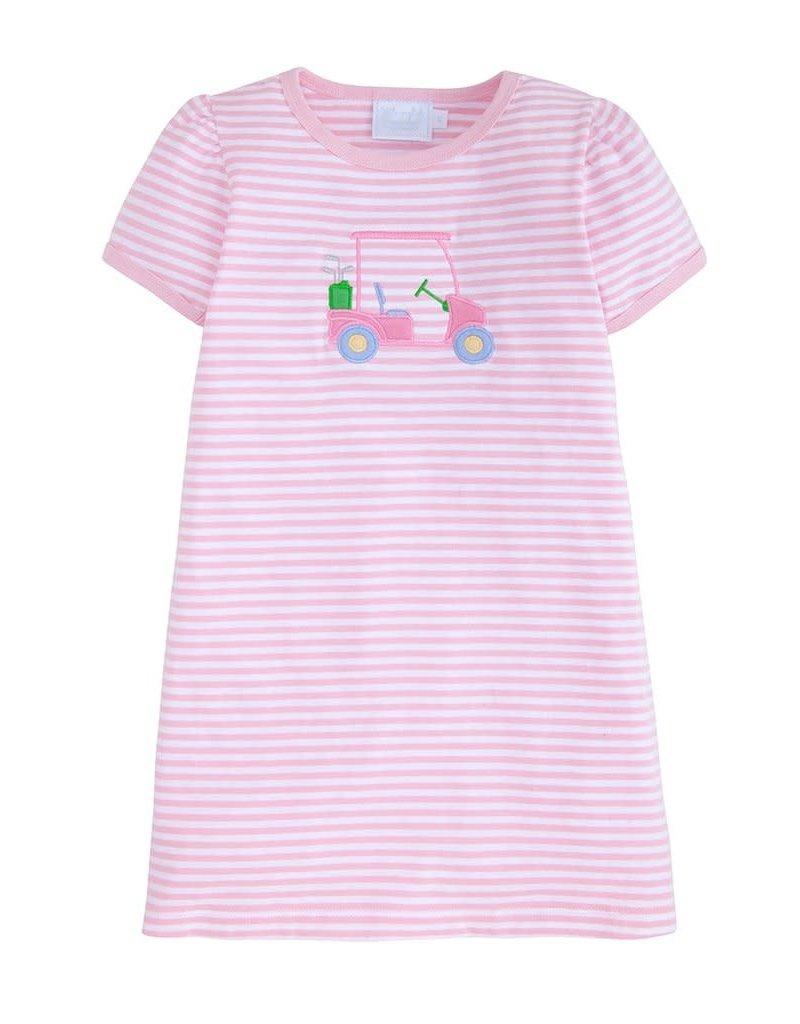 Little English Little English Applique T-shirt Dress