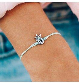 Pura Vida Pura Vida Open Pineapple Bracelet