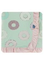 KicKee Pants Kickee Pants Print Ruffle Stroller Blanket