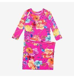 Posh Peanut Posh Peanut Wood Button Zippered Gown- Aminatu