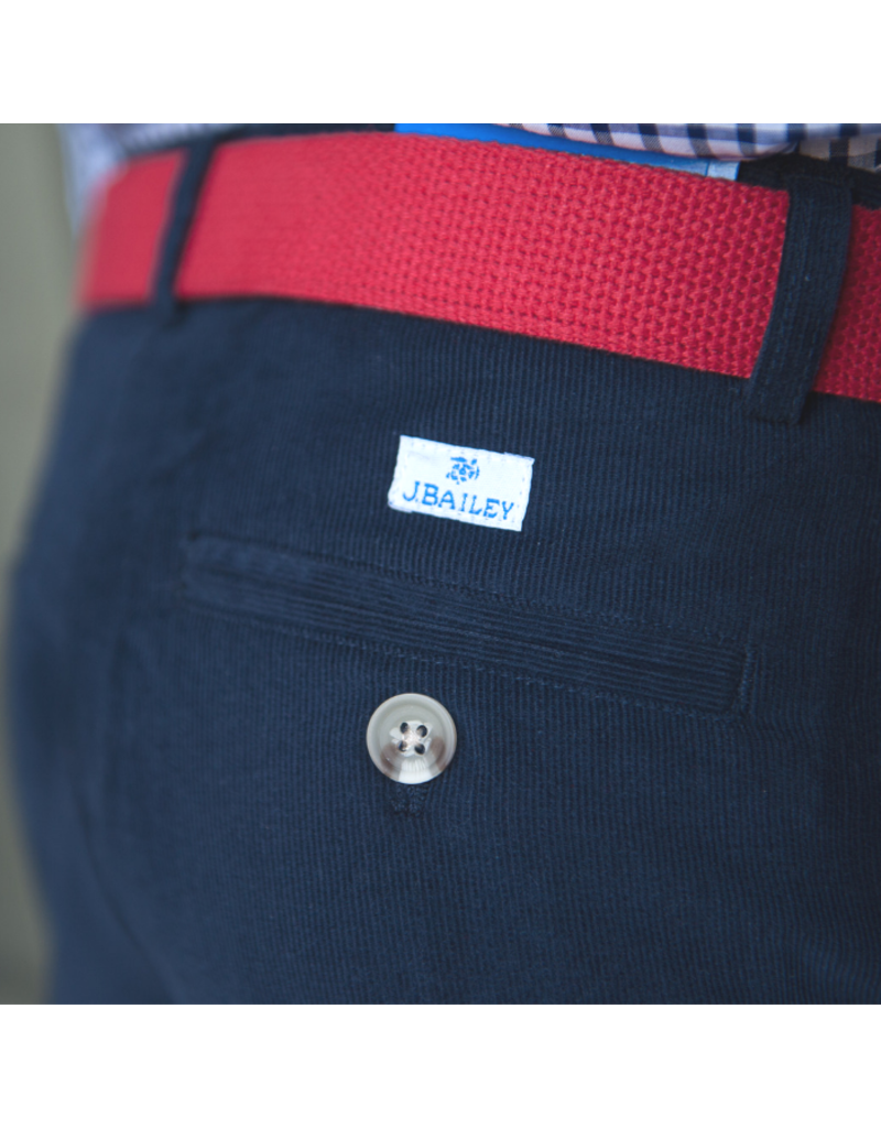 J. Bailey J. Bailey Navy Cord Pants