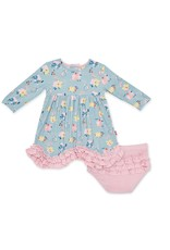 Magnetic me Magnetic Me Notting Hill Dress + Diaper Cover