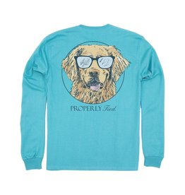 Properly Tied Properly Tied LD Cool Dog LS Emerald