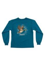 Bailey Boys Bailey Boys Logo Tee, Duck On Teal