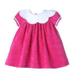 Sophie & Lucas Sopie & Lucas Candy Cord Scallop Dress, Fuchsia