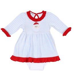 Magnolia Baby Magnolia Baby Santa Claus L/S Dress Set RD