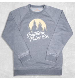 Southern Point Southern Point Youth Campside Sweatshirt- Orion Blue