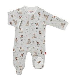 Magnetic me Magnetic Me Perfect Sunday Organic Cotton Magnetic Footie