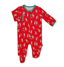 Magnetic me Magnetic Me Rollicking Reindeer Holiday Modal Magnetic Footie