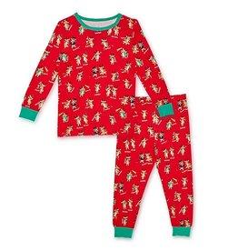 Magnetic me Magnetic Me Rollicking Reindeer Holiday Modal Mag Toddler PJ Set
