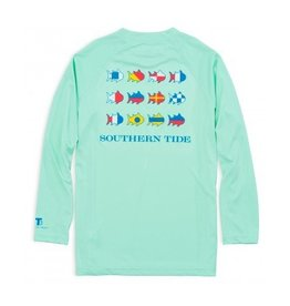Southern Tide Southern Tide Nautical Flags Performance T-Shirt