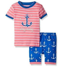 Hatley Little Blue House by Hatley  PJ Short Set