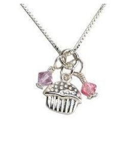 Cherished Moments Cherished Moments Cupcake Cluster Necklace