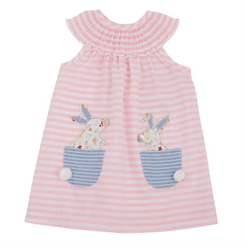 a19cacf5a Mud Pie Bunny Pocket Dress - Little Options