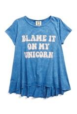 PPLA PPLA Blame Unicorn Knit Tee