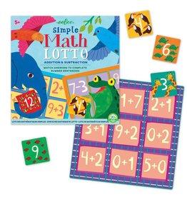 Eeboo Eeboo Simple Math Lotto