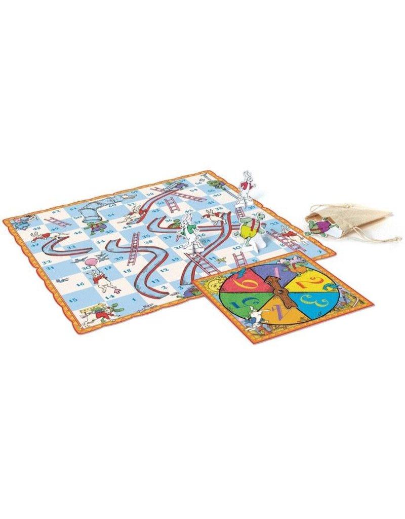Eeboo Eeboo Slips and Ladders Board Game