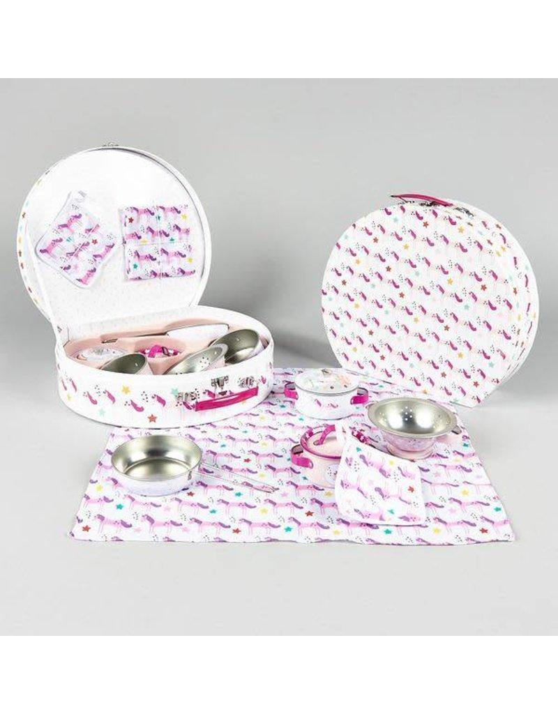 Floss & Rock Floss & Rock  8pc Kitchen Tin Set