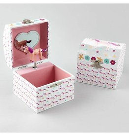 Floss & Rock Floss & Rock Square Musical Jewelry Box