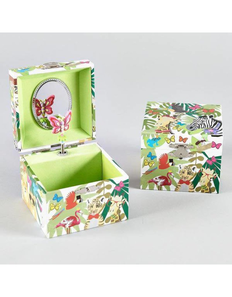 Floss & Rock Floss & Rock Square Musical Jewelry Box