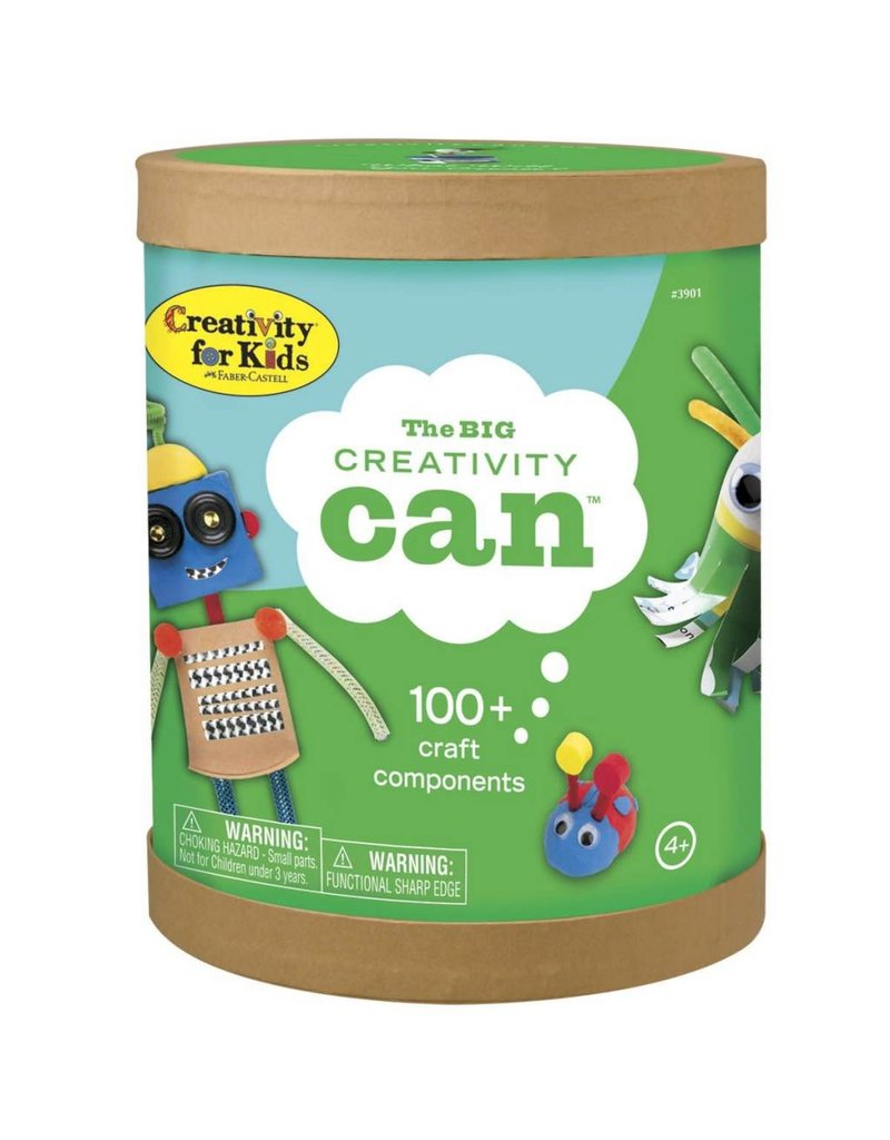 Faber-Castell Creativity for Kids The Big Creativity Can