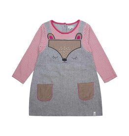 Lilly + Sid Lilly + Sid Character Pinafore