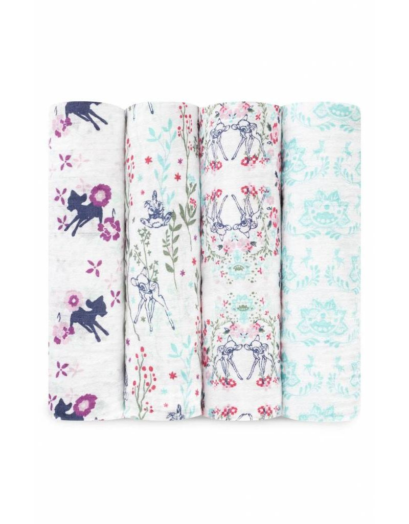 Aden and Anais aden + anais Disney Baby Classic Swaddle 4 pack