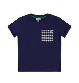 Lilly + Sid Lilly + Sid Check Pocket T-Shirt SS