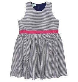 Lilly + Sid Lilly + Sid Ticking Stripe Dress