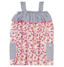 Lilly + Sid Lilly + Sid Fabric Mix Sundress