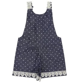 Lilly + Sid Lilly + Sid Chambray Dot Playsuit