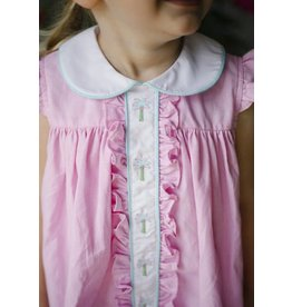Little English Little English Ruffled Sally Bloomer Set