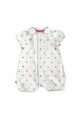 Magnificent Baby Magnetic Me Pique Polo Romper- 2 choices!