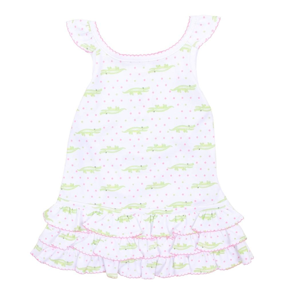 Magnolia Baby Magnolia Baby Printed Sleeveless Dress Set