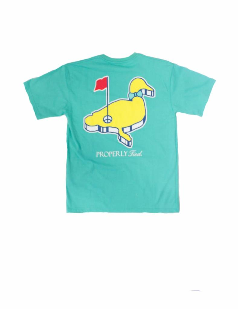 Properly Tied Properly Tied Lil Ducklings SS Shirt