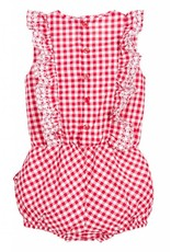 Mayoral Mayoral Embroidered Romper- Baby