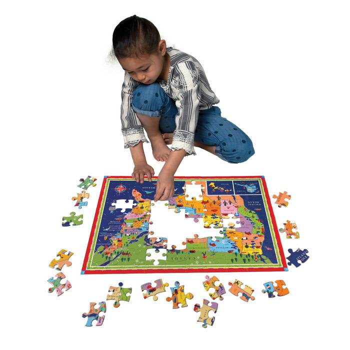 Eeboo Eeboo Puzzle States This is Your Land