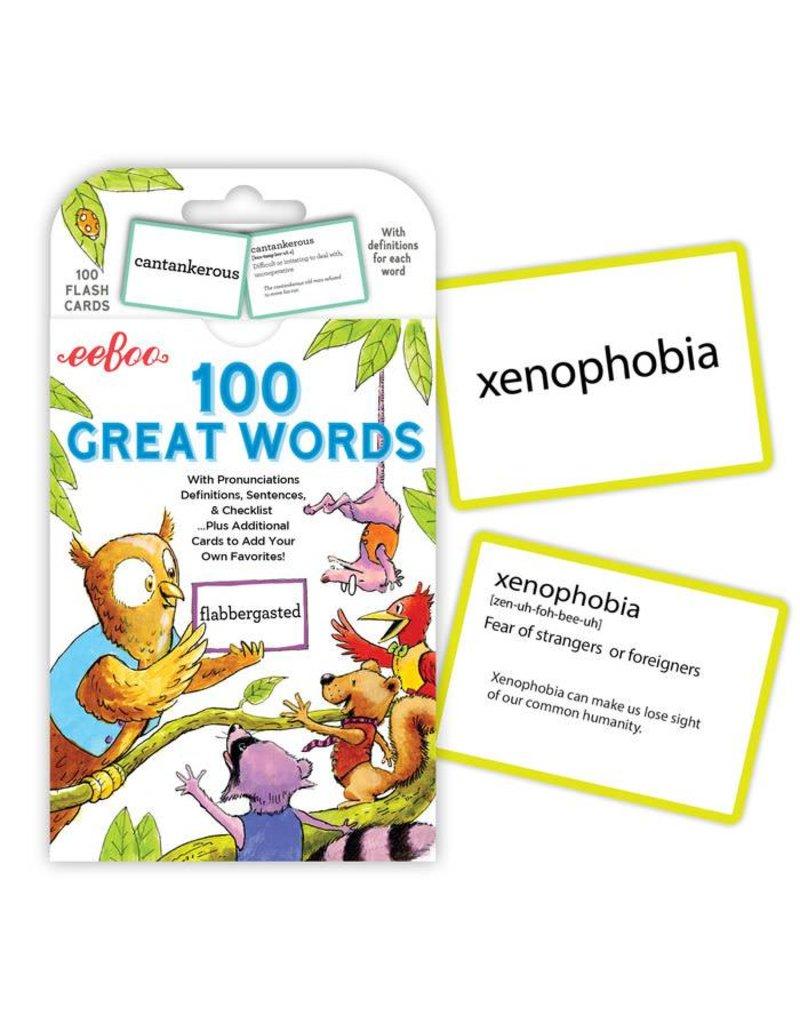 Eeboo Eeboo 100 Great Words