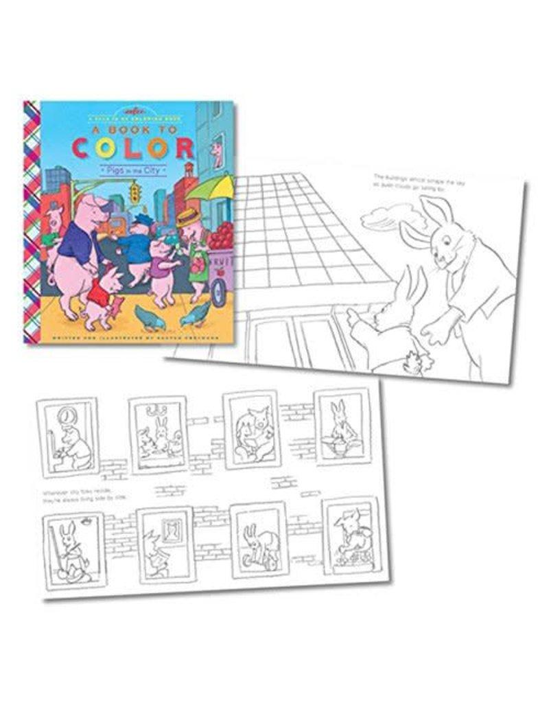 Eeboo Eeboo A Book To Color