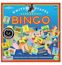 Eeboo EeBoo United States Bingo