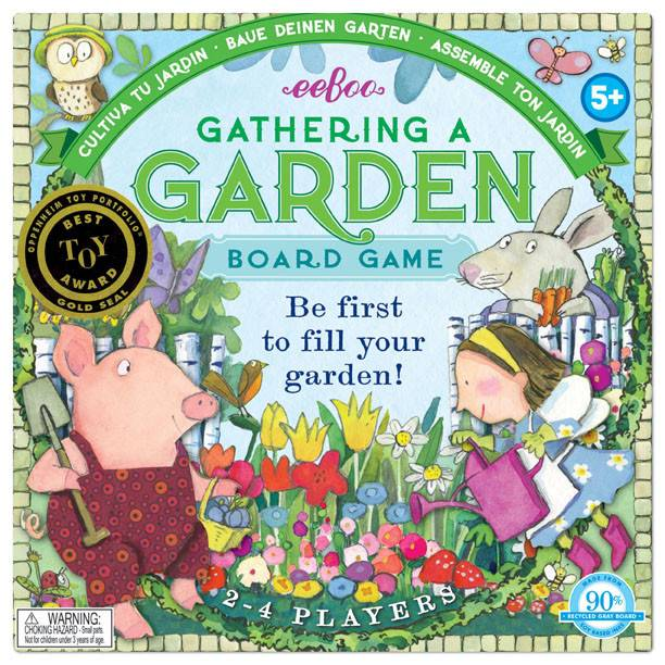 Eeboo Eeboo Gathering a Garden Board Game