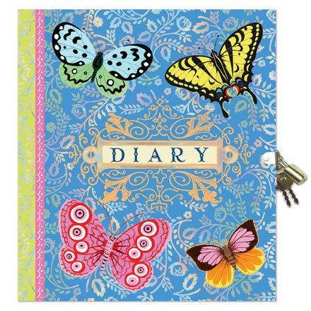 Eeboo Eeboo Lock Diary