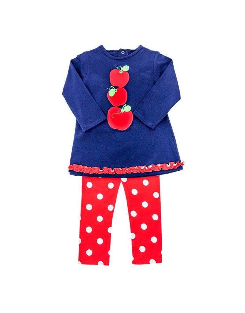 Bailey Boys Bailey Boys Knit Apples Tunic Pant Set