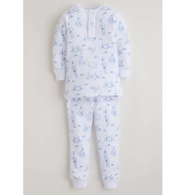 Little English Little English Boy's London Jammies Set