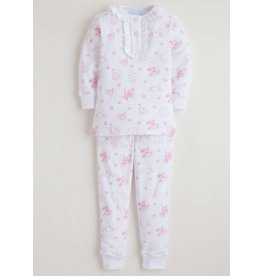 Little English Little English Girl's London Jammies Set
