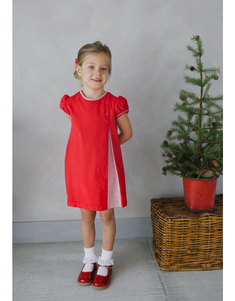 Little English Little English Highlands Corduroy Dress